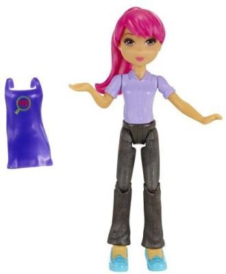 MiWorld Pink Hair Girl Doll