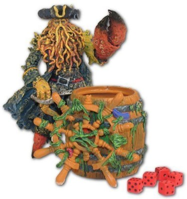 Toys+ Davy Jones With Flying Dutchman Barrel