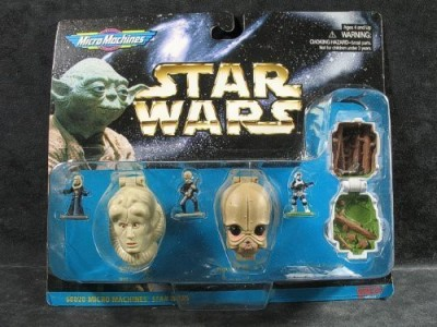 Micro Machines Star Wars Mini Head Collection Iv Bib Fortunafigrin(Beige)