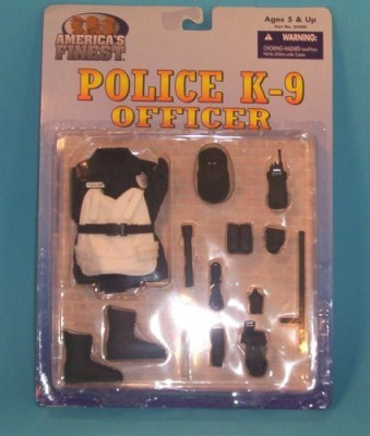 G I Joe America,S Finest Police Officer K9 K9 Uniform