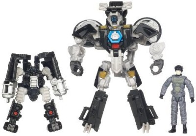 Transformers Dark of the Moon Mechtech Sergeant Noble, Tailpipe & Pinpointer