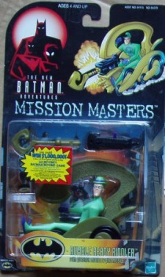 Batman Kenner Adventures Rumble Ready Riddler Mission Masters