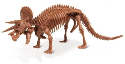 Geoworld Dino Excavation Kit - Triceratops Skeleton