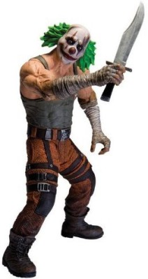 DC Collectibles Arkham City: Series 3 Clown Thug with Knife Action Figure