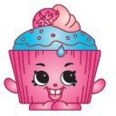 Shopkins Season 2 2052 Cupcake Chic (Rare)