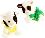 Calico Critters Friesian Cow Twins (Mult...