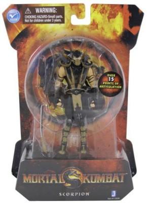Jazwares Toys Mortal Kombat Mk9 4 Inch Scorpion