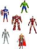 Krypton Action Heroes - Set of 6 (Multic...
