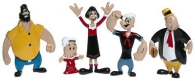 Popeye Retro Bendableset