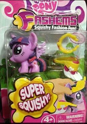 My Little Pony Princess Twilight Fash,Ems Squishy Fashion Series 2