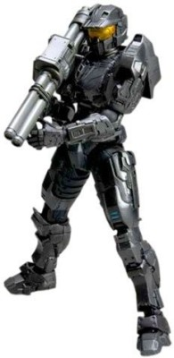 Square Enix Halo Reach Play Arts Kai Black Spartan Mark V