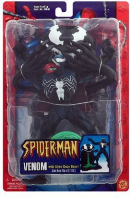 Toy Biz Venom with Alien Ooze Base from Spider-Man Classics