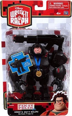 Wreck-It Ralph Hero,S Duty With Armorweapon & Medal