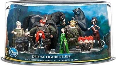 Disney Pixar Brave Movie Exclusive 10Piece Deluxe Pvc Figurine Set