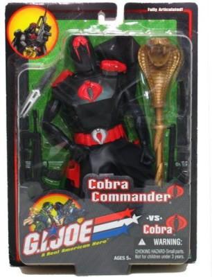 G I Joe Cobra Commander Vs Cobra 12 Inch