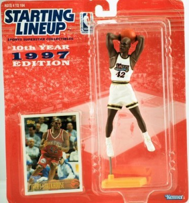 Starting Line Up 1997 Kenner Starting Lineup 10Th Anniversary Nba Jerry