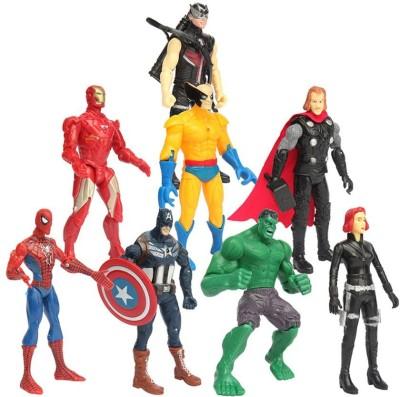 Emob Action Hero 8 in 1 Super Power Super Heros Series