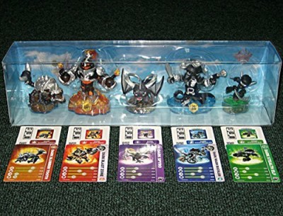 Activision Skylanders Swap Force Dark Edition 5 Character Lot Blast