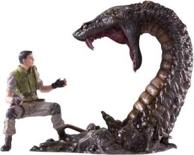 Organic Bio Hazard Figure Collection Vol. 4 Chris Redfield vs Yawn (PVC Figure)