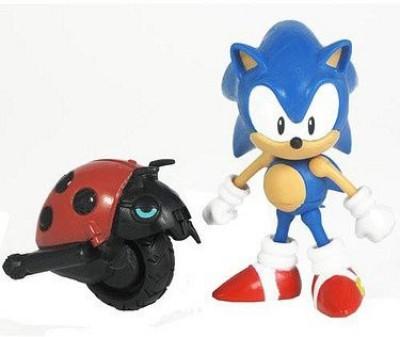 Sonic The Hedgehog 20th Anniversary 3.5 Inch Action Figure 1991 Sonic Moto Bug
