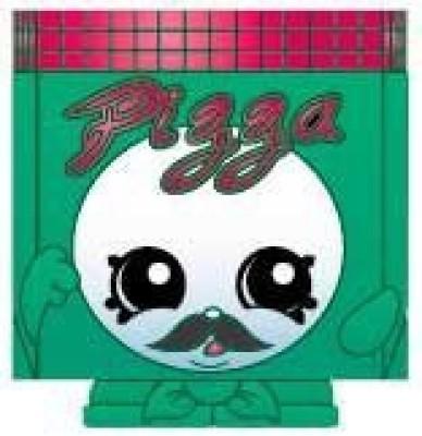 Shopkins 2014 FIGURES - PA, PIZZA #125 SEASON 1 - (SPECIAL EDITION)