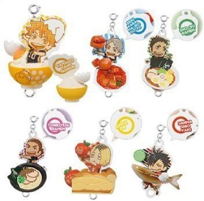 Takara Tomy Haikyuu Tsunagaru Food Mascot Part 1 Set Of 6