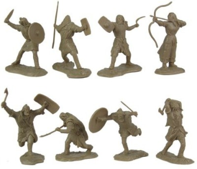 Toy Soldiers of San Diego Ancient Barbarian Warriors 16 Piece Set Of 60Mm 130 Scale