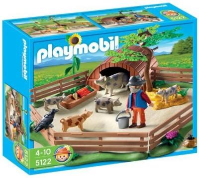 PLAYMOBIL Pig Pen Playset Construction