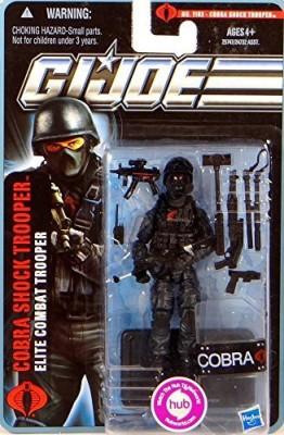 Hasbro Gi Joe Pursuit Of Cobra 3 3/4 Inch Cobra Shocktrooper