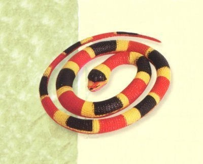 Wild Republic Rubber Coral Snake