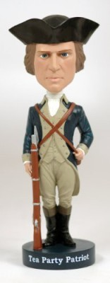 Royal Bobbles Tea Party Patriot Bobblehead
