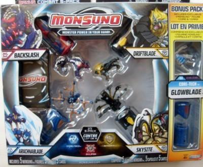 Jakks Pacific Monsuno Bonus Combat 5Pack
