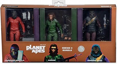 Planet of the Apes Neca Classic Series 3 General Aldocaesar & Conquest