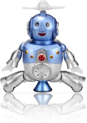 Doux devil Dancing Rotating musical Lighting Robot Toy Game