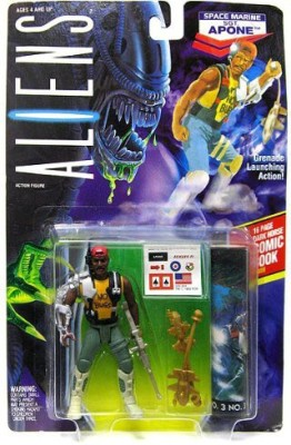 Unknown Aliens Kenner Vintage 1992 Space Marine Sgt Apone Grenade