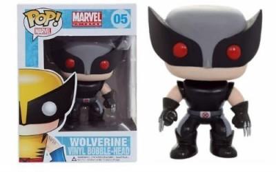 Funko Pop Xforce Xmen Wolverine Grey Black Hot Topic