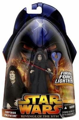 Hasbro Star Wars Episode III 3 Revenge of the Sith EMPEROR PALPATINE Firing Force Lightning Figure #12