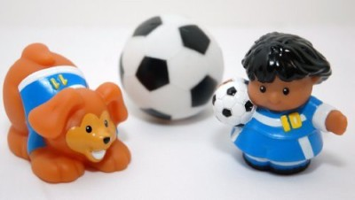 Little People Fisher Price Soccer Set