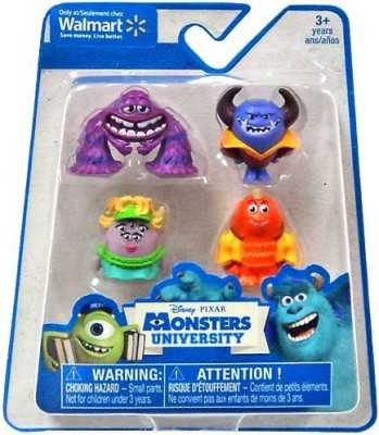 Monsters University Disney / Pixar Exclusive 1 Inch Mini 4Pack Artms