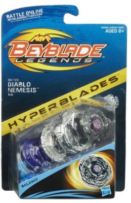 Beyblade Legends Beybattle Tops Bb122 Diablo Nemesis Xd Top