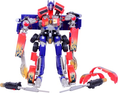 Planet of Toys Intelligence Warrior Transformer Robot(Multicolor)