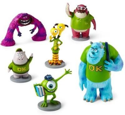 Disney Monsters University Figurine Set 6 Piece