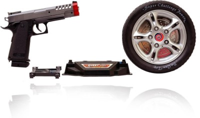 Planet of Toys Turntable Shoot Game with Infrared Gun