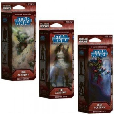 Wizards of the Coast Star Wars Miniatures Jedi Academy Booster Pack