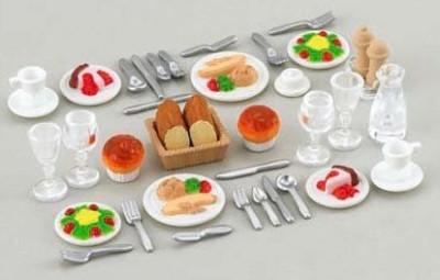 ToyMarket Sylvanian Families furniture dinner set over -409 (japan import)