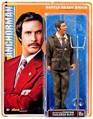 Anchorman Battle Ready Brick Tamland 8Inch