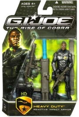 G I Joe The Rise Of Cobra Movie Heavy Duty (Reactive Impact