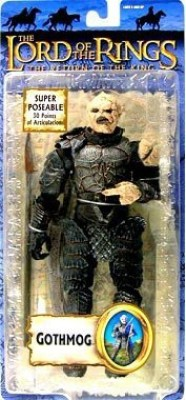 Toybiz Lord Of The Rings Return of the King Collectors Series Action Figure Gothmog