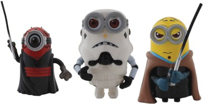 Tootpado Cartoon Space Wars Super Hero Action Figure Toys (1c331) - Pack of 3