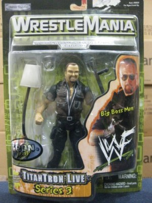 WrestleMania Wwf Titantron Live Series 3 Big Boss Man